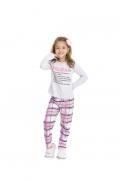 Pijama Infantil Menina  Mãe e Filha - Tamanho 4 ao 10