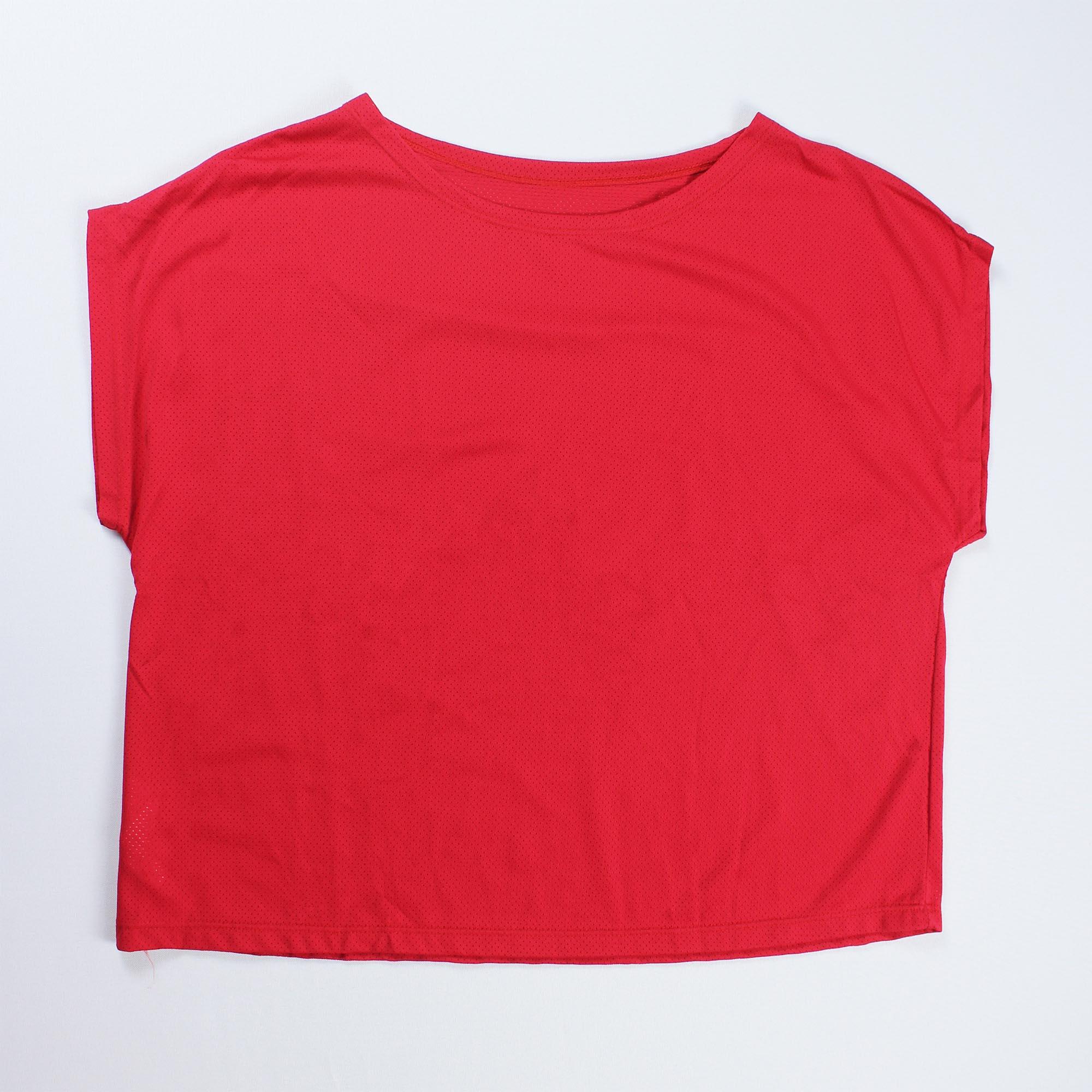 Blusa Cropped Feminina - Vermelha