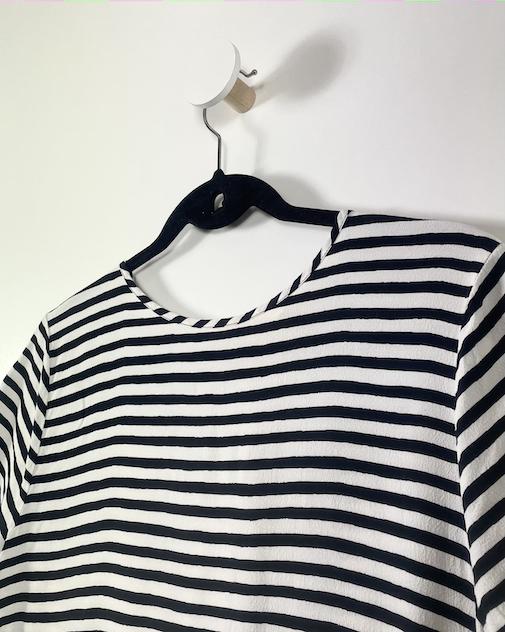 Blusa Listrada Feminina - Tamanho M