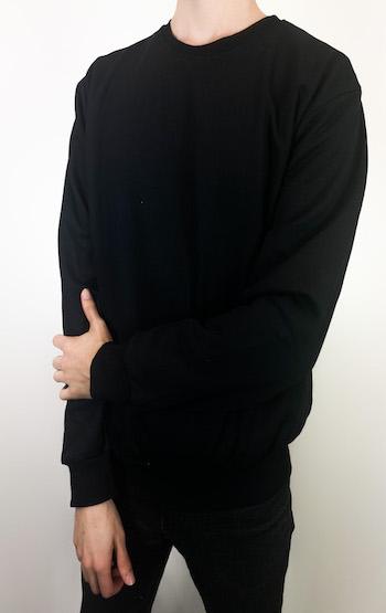 Blusão de Moletom Masculino - Tamanho M ao GG