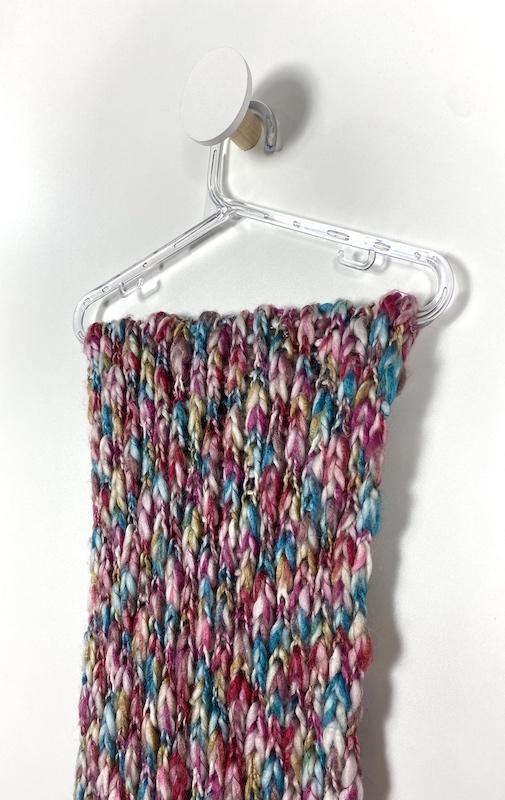 Cachecol Lã Colorido