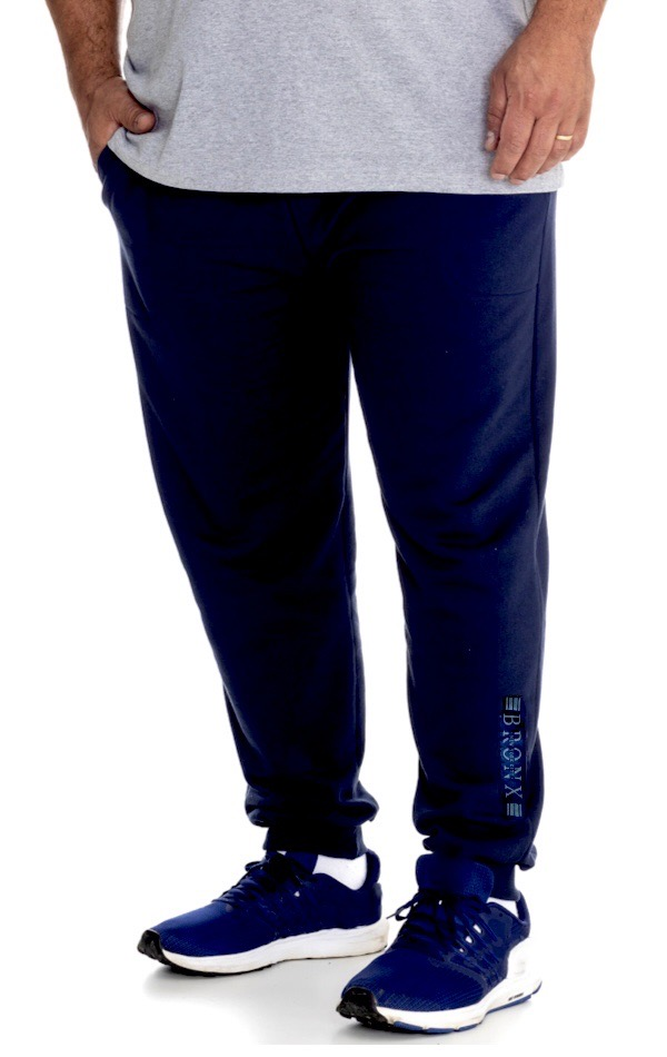 Calça de Moletom Plus Size Masculina - Tamanho G1
