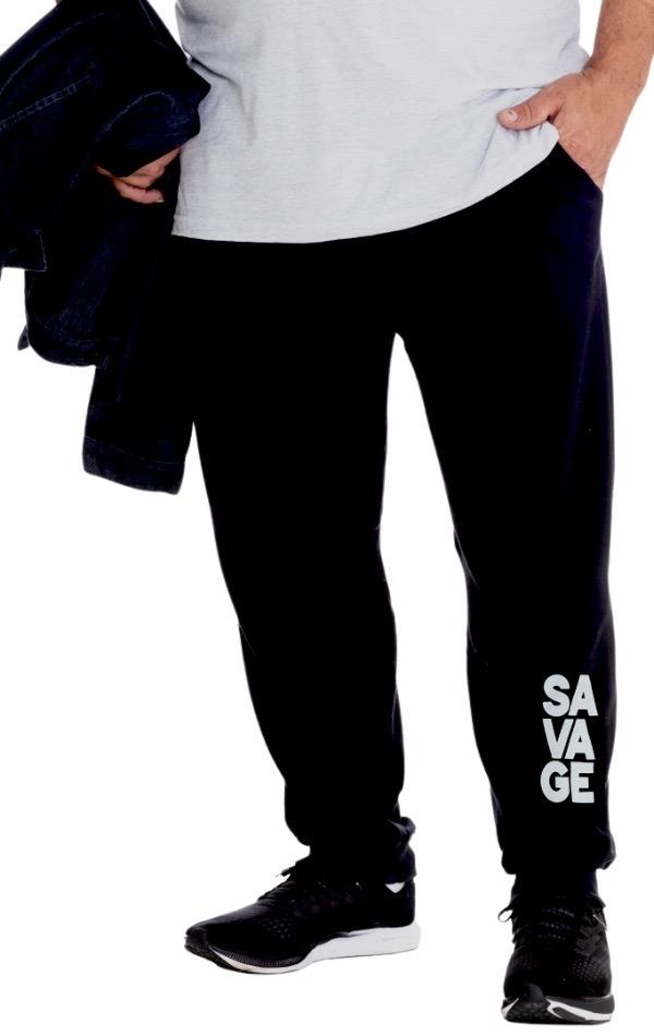 Calça de Moletom Plus Size Masculina - Tamanho G1 e G3