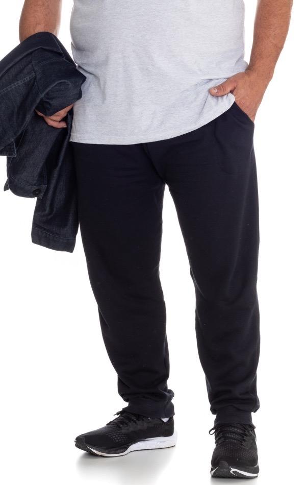 Calça de Moletom Plus Size Masculina - Tamanho G2