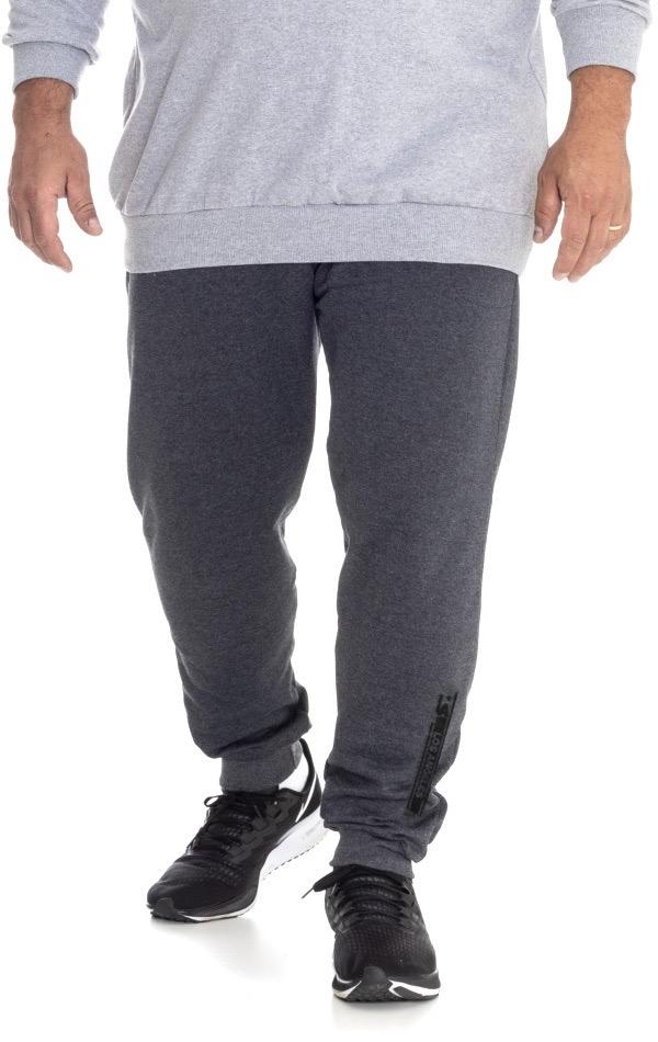 Calça de Moletom Plus Size Masculina - Tamanho G3