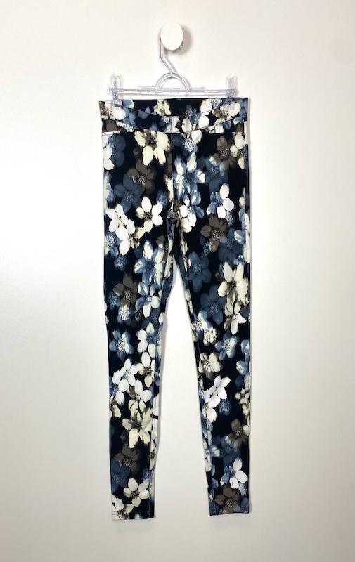 Calça Estilo Legging Floral Feminina - Tamanho M (Produto Novo)