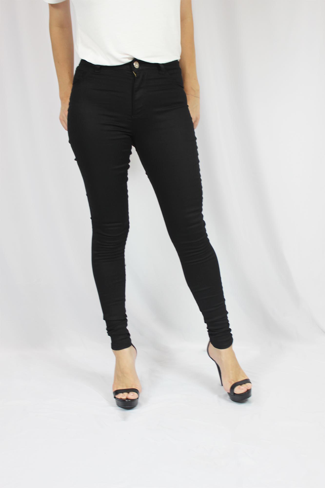 Calça Jeans Feminina - Preta
