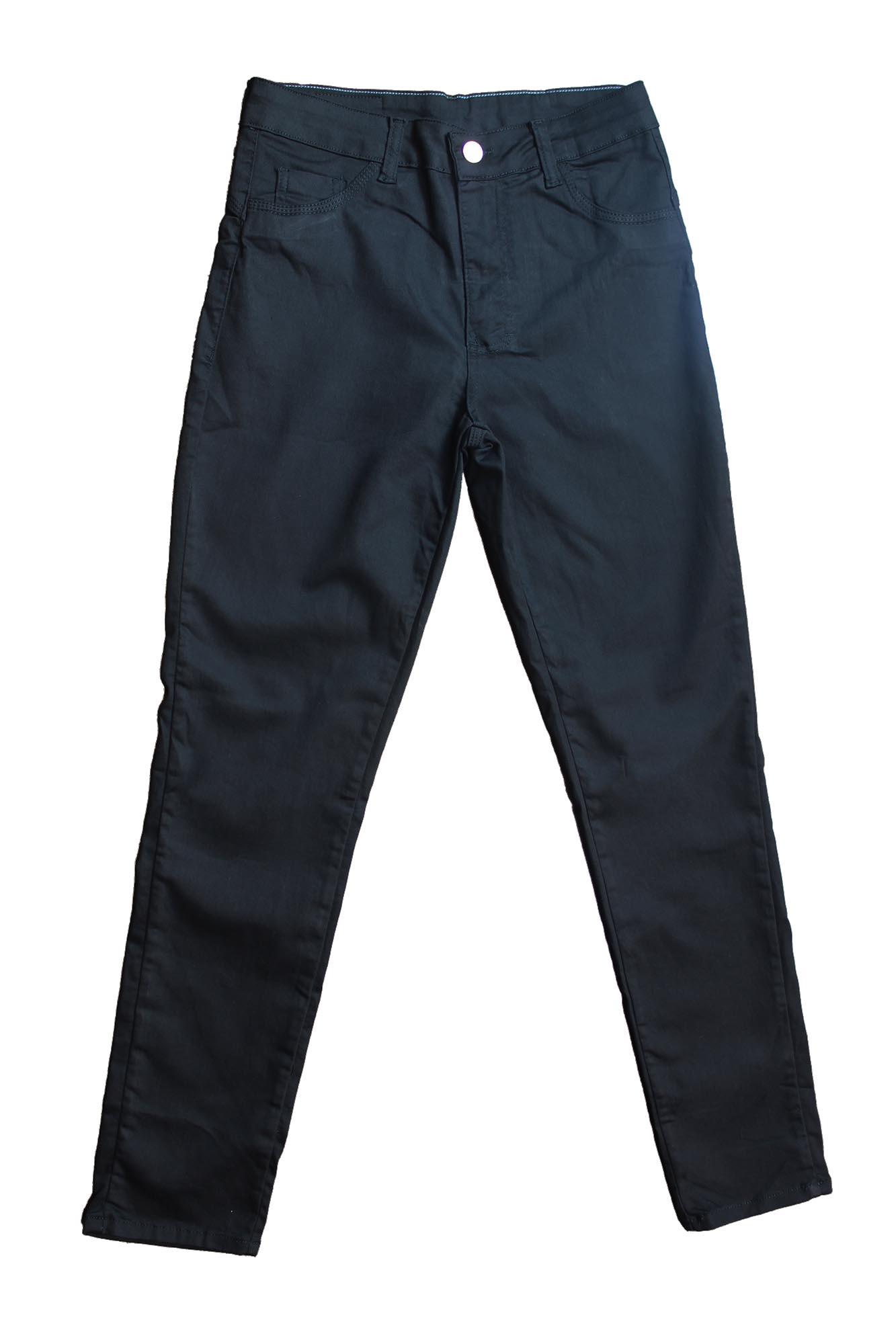 Calça Jeans Feminina Plus Size - Preta