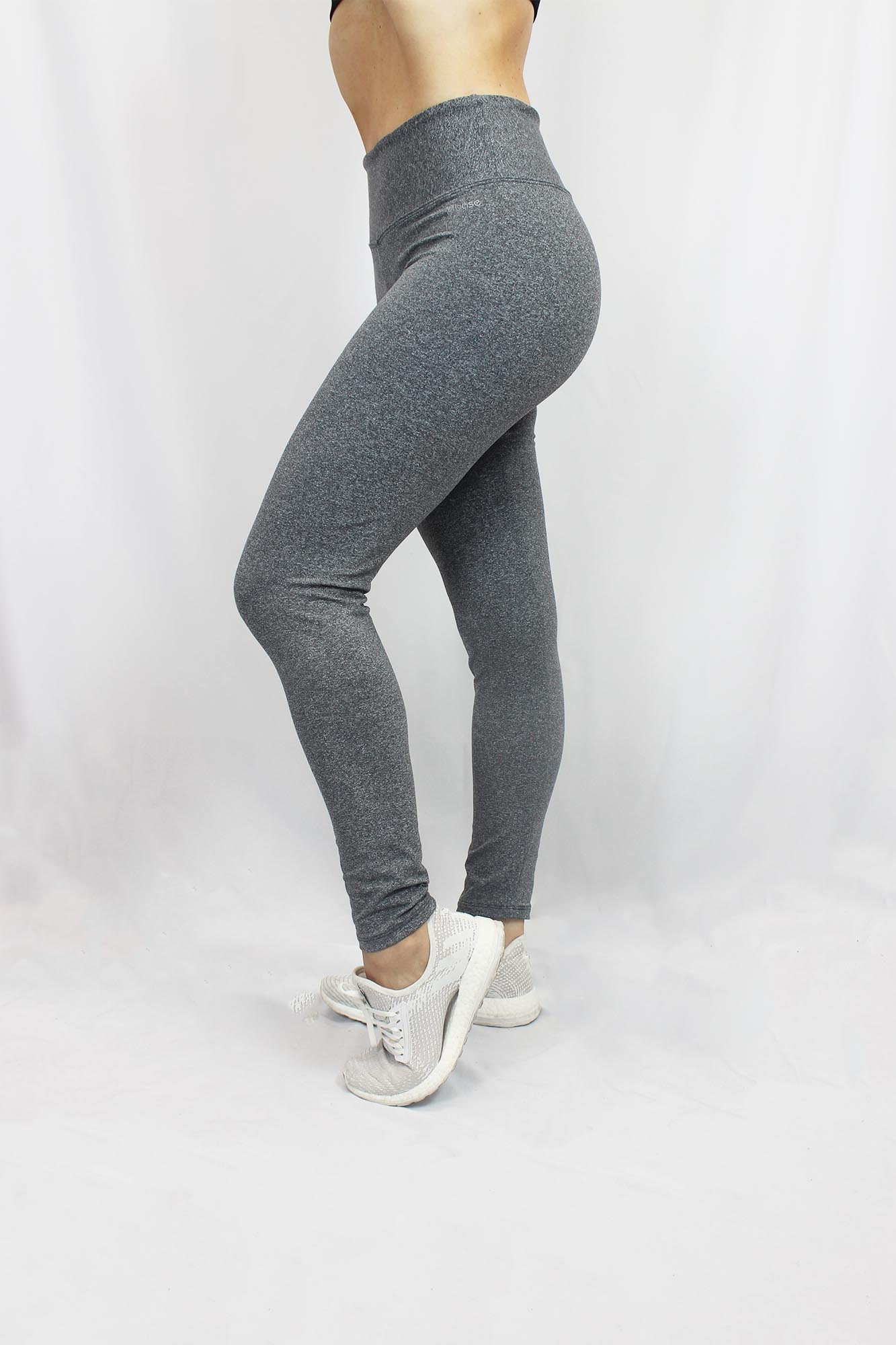 Calça Legging Básica Feminina - Cinza