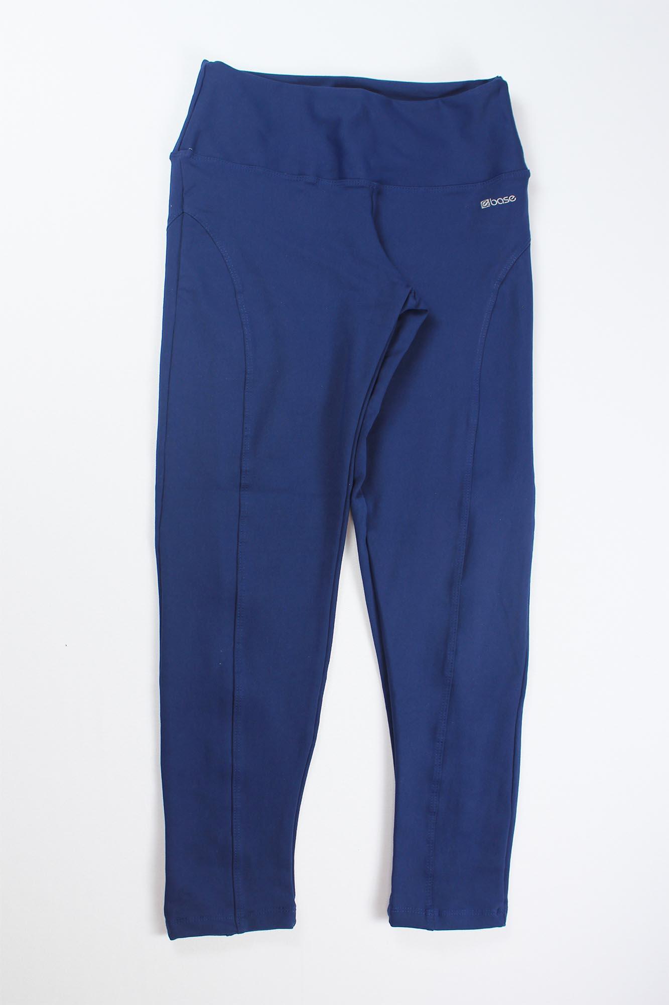 Calça Legging Montaria Feminina - Azul Marinho