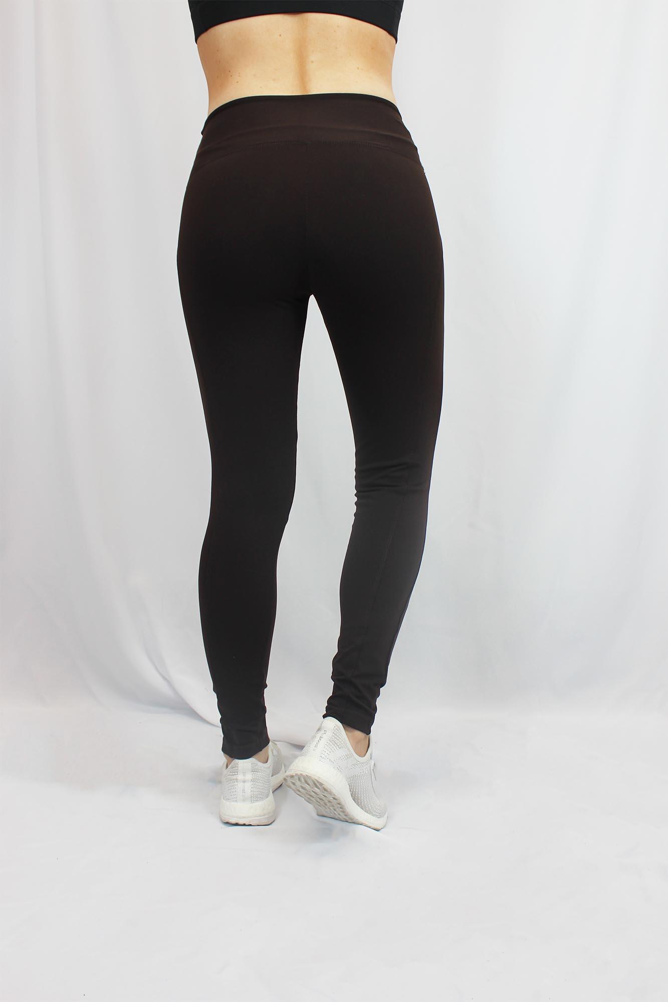 Calça Legging Montaria Feminina - Marrom Escuro