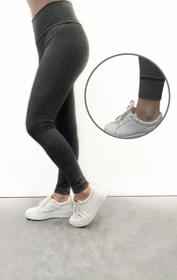 Calça Legging Peluciada Feminina - Tamanho P ao GG