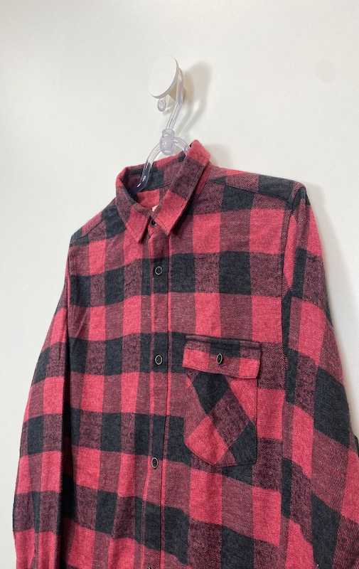 Camisa Estilo Flanela Masculina - Tamanho P