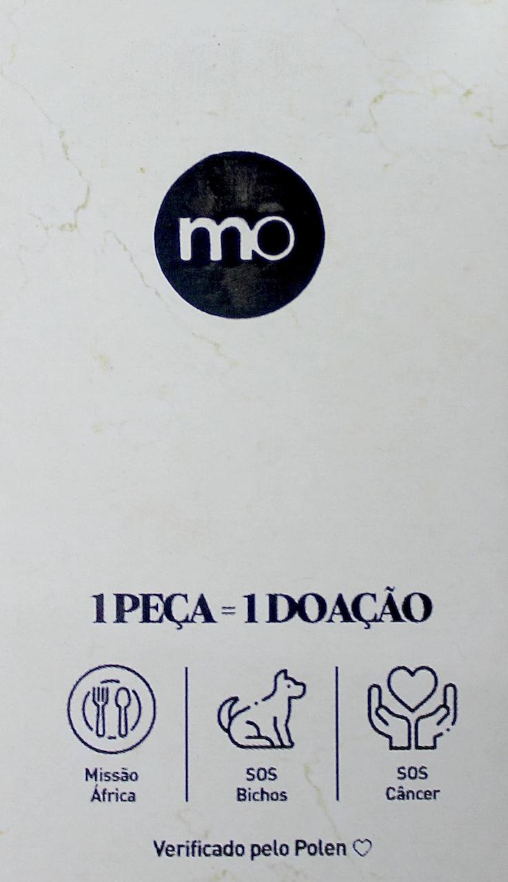 Camisa Social Slim Fit Básica MO Masculina - Preta