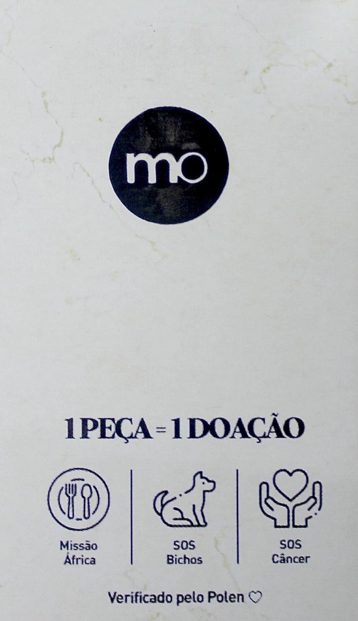 Camiseta Básica Lisa Gola Redonda MO Masculina - Branca