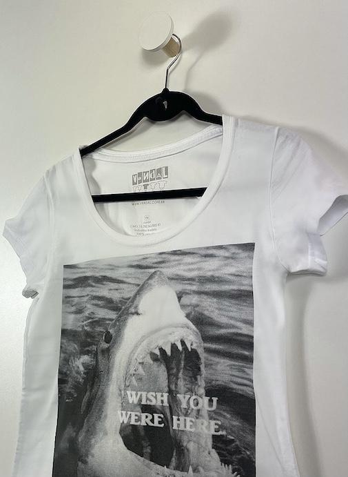 Camiseta Estampa Feminina - Tamanho M