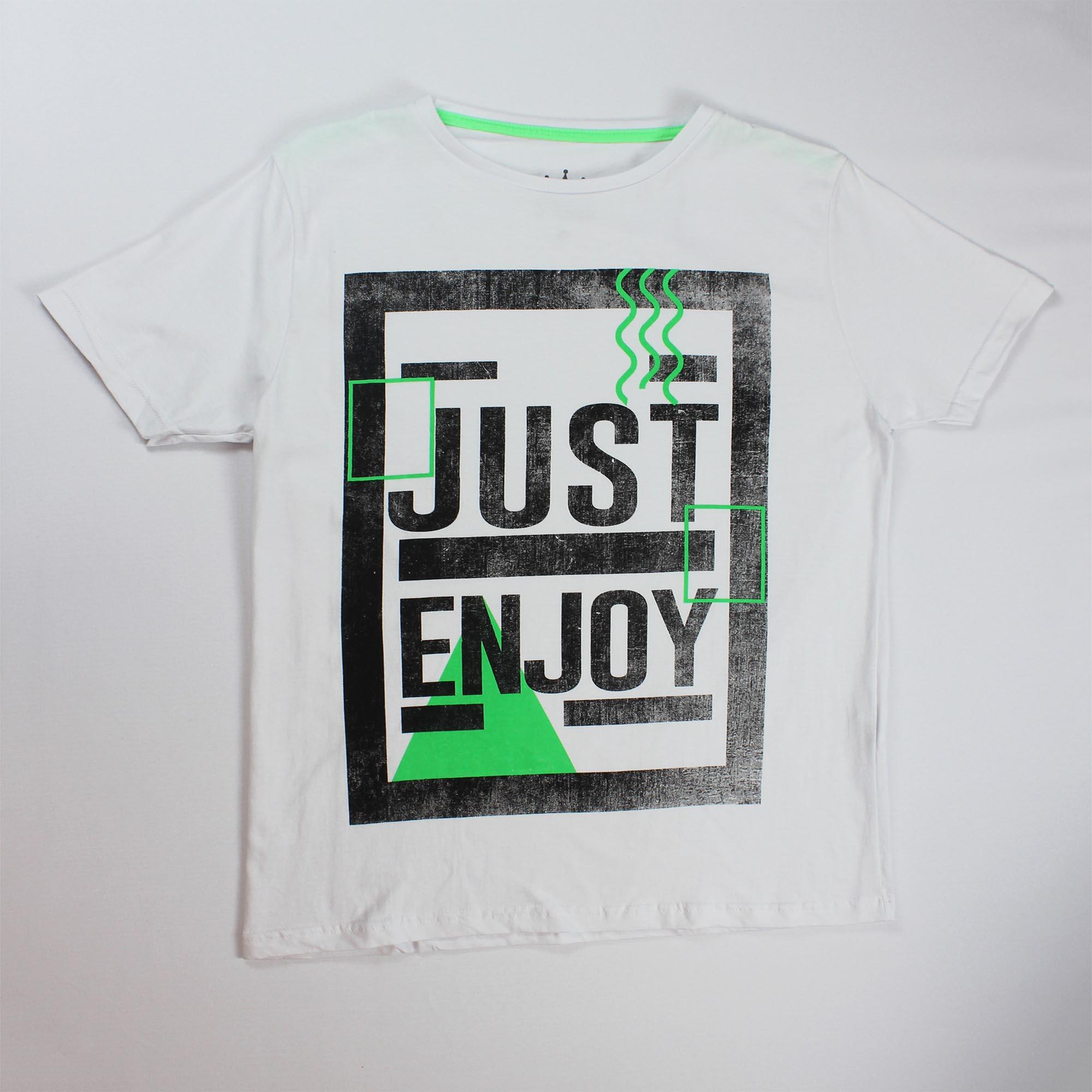 Camiseta Estampada Masculina - Tamanho P ao GG