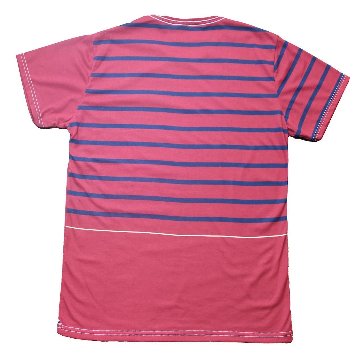 Camiseta Gola V Estampada Masculina - Tamanho G