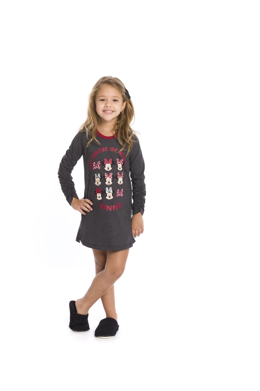 Camisola Infantil Disney (Produto Oficial) - Tamanho 4 ao 10