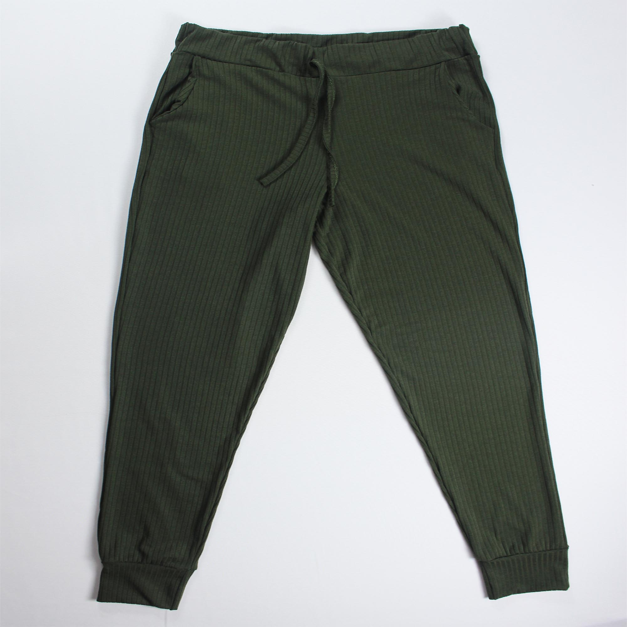 Conjunto Blusa e Calça Duas Faixas - Verde