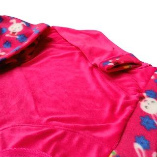 Conjunto de Abrigo Soft Infantil Menina - Tamanho 03 Meses