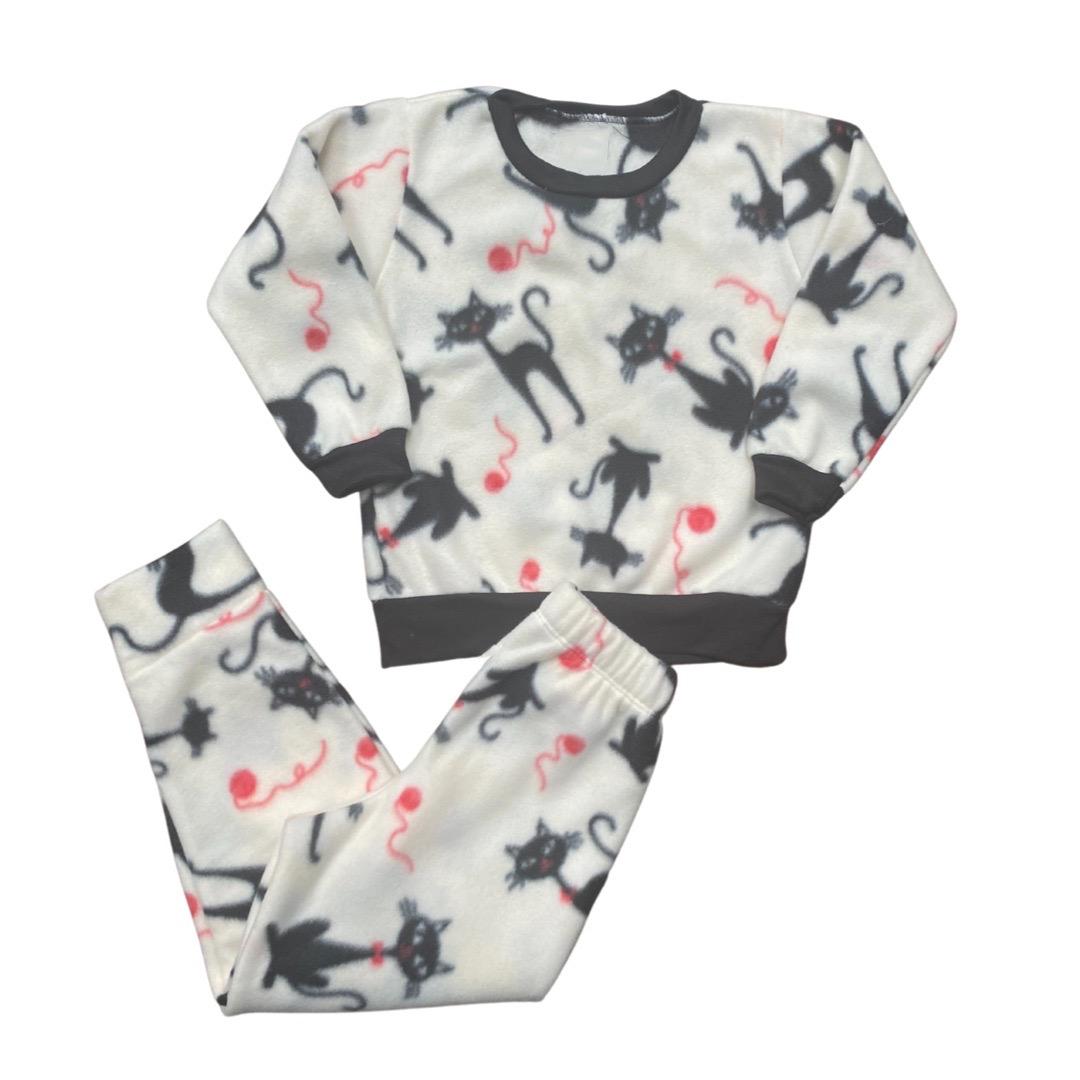 Conjunto de Abrigo Soft Infantil Menina - Tamanho 4