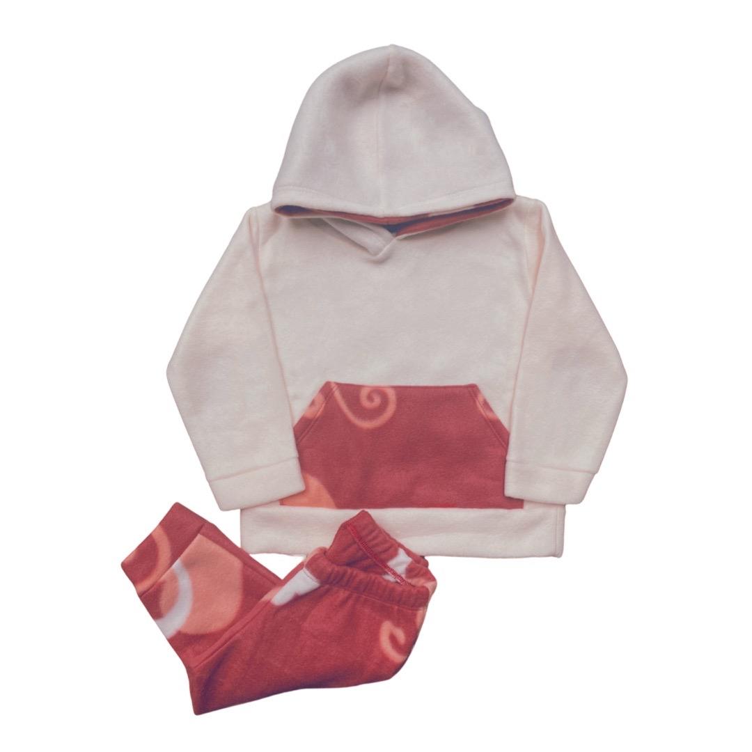 Conjunto de Abrigo Soft Infantil Menina - Tamanho 4 e 8
