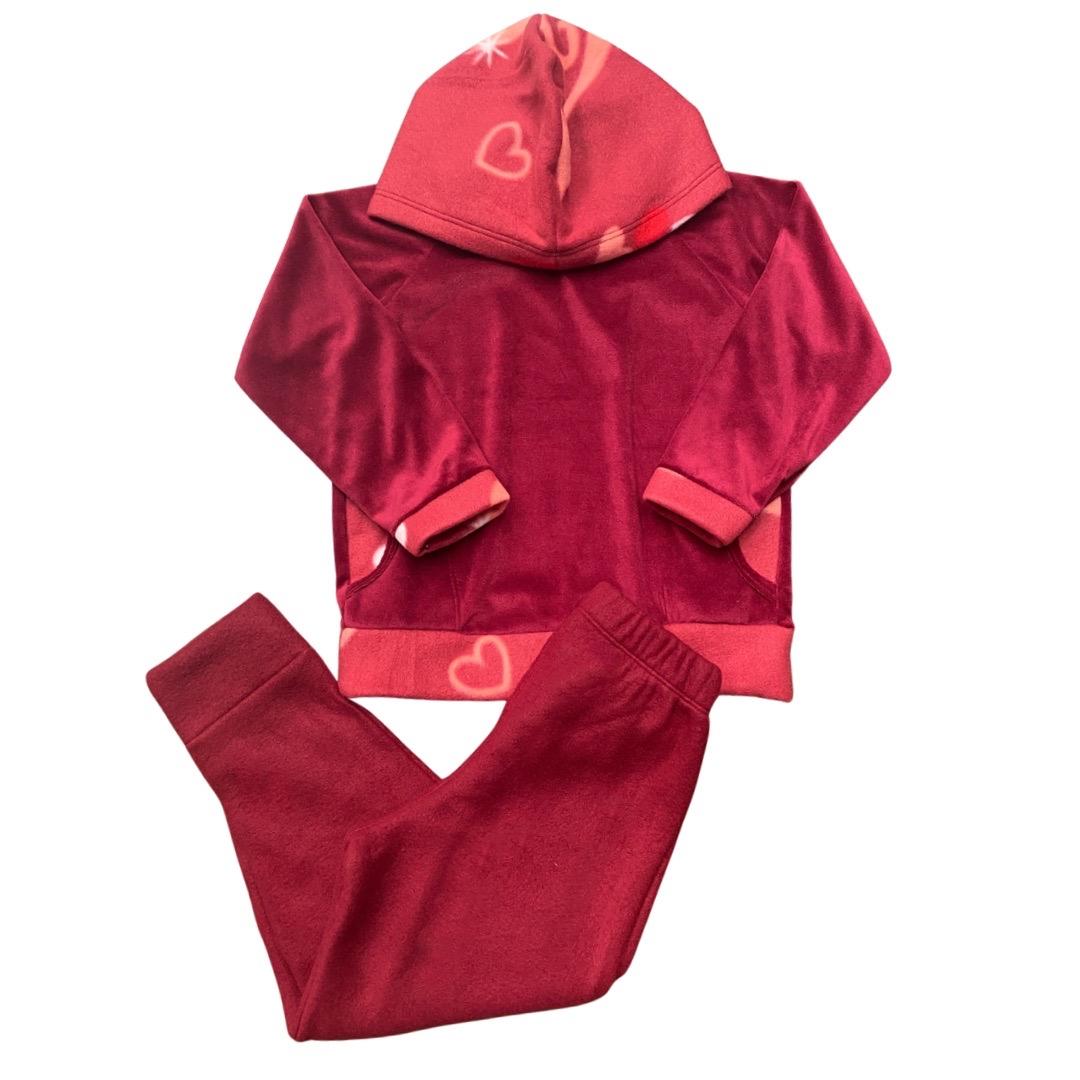 Conjunto de Abrigo Soft Infantil Menina - Tamanho 8