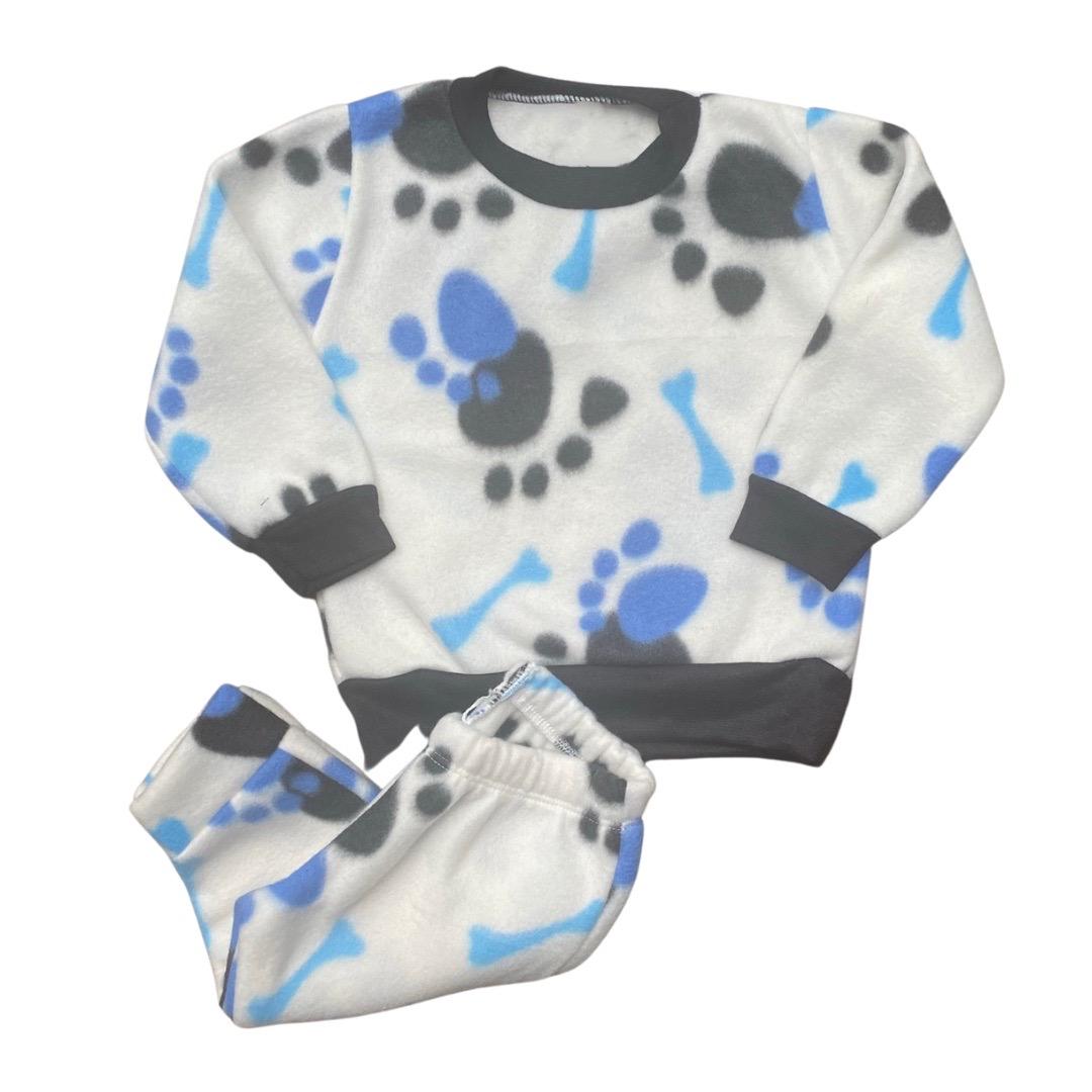 Conjunto de Abrigo Soft Infantil Menino - Tamanho 6