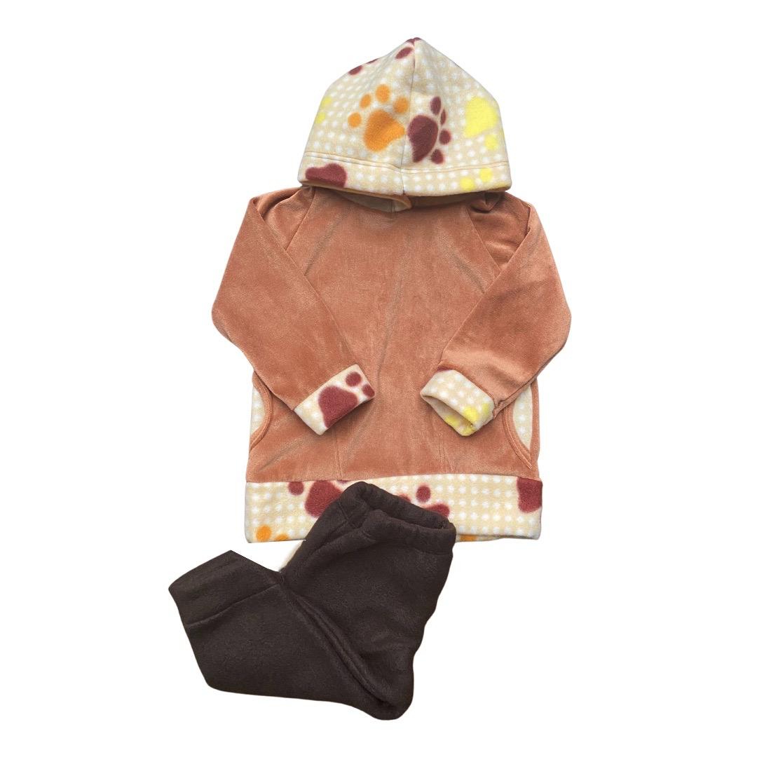 Conjunto de Abrigo Soft Infantil Unissex - Tamanho 02 Meses