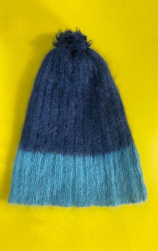 Gorro Azul Feminino - Tamanho Único