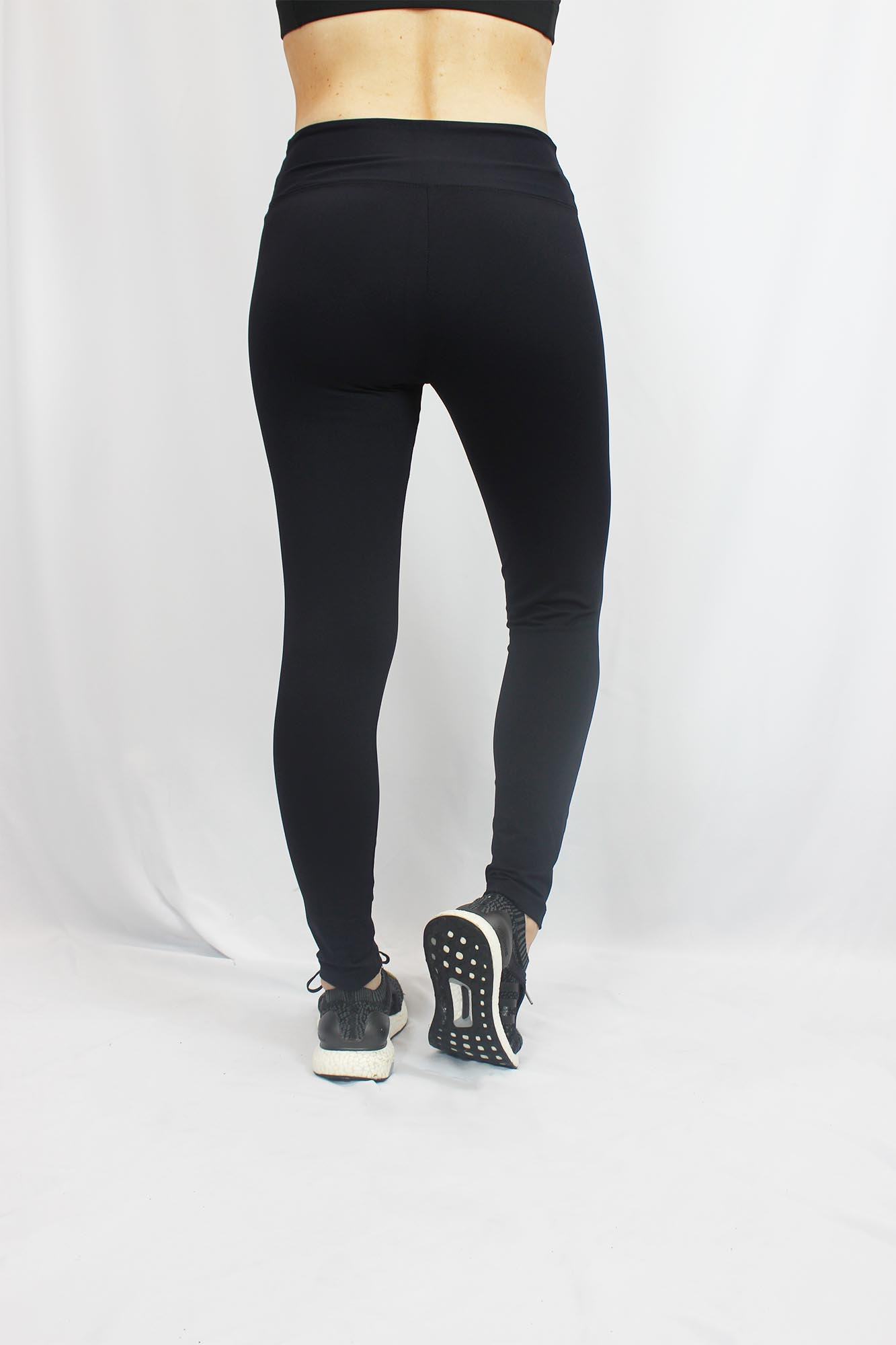 Calça Legging Básica Feminina - Preta