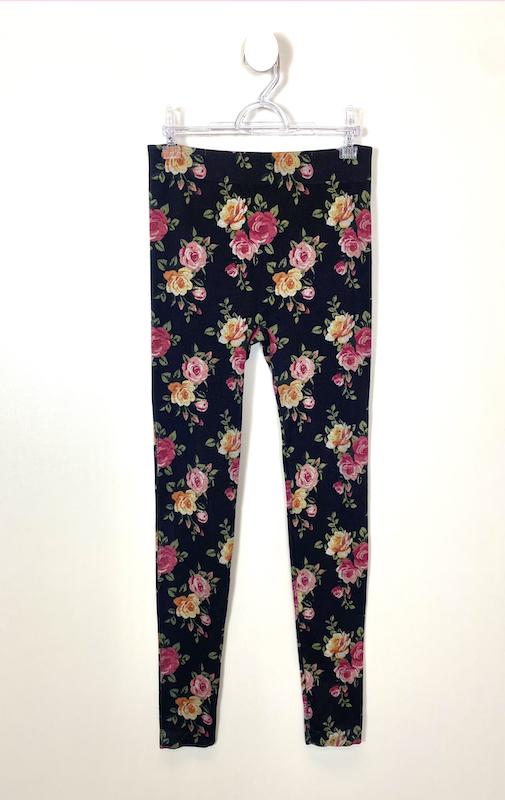 Legging Floral Feminina - Tamanho G