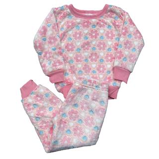 Pijama Conjunto Soft Fleece Infantil Menina - Tamanho 1