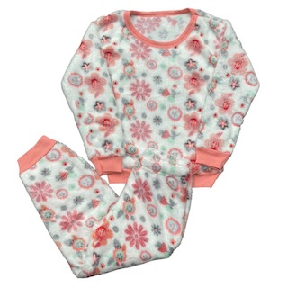 Pijama Conjunto Soft Fleece Infantil Menina - Tamanho 4 e 8