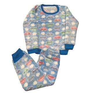 Pijama Conjunto Soft Fleece Infantil Menino - Tamanho 4