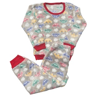 Pijama Conjunto Soft Fleece Infantil Menino - Tamanho 6