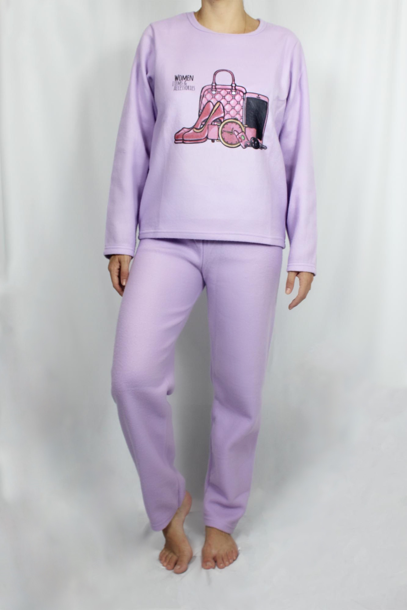 Pijama de Soft Feminino - Tamanho G1