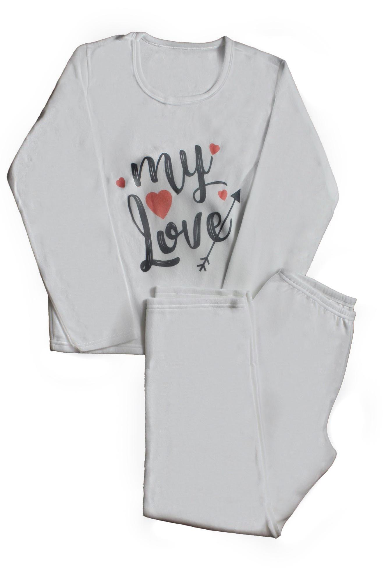 Pijama de Soft Feminino - Tamanho G2