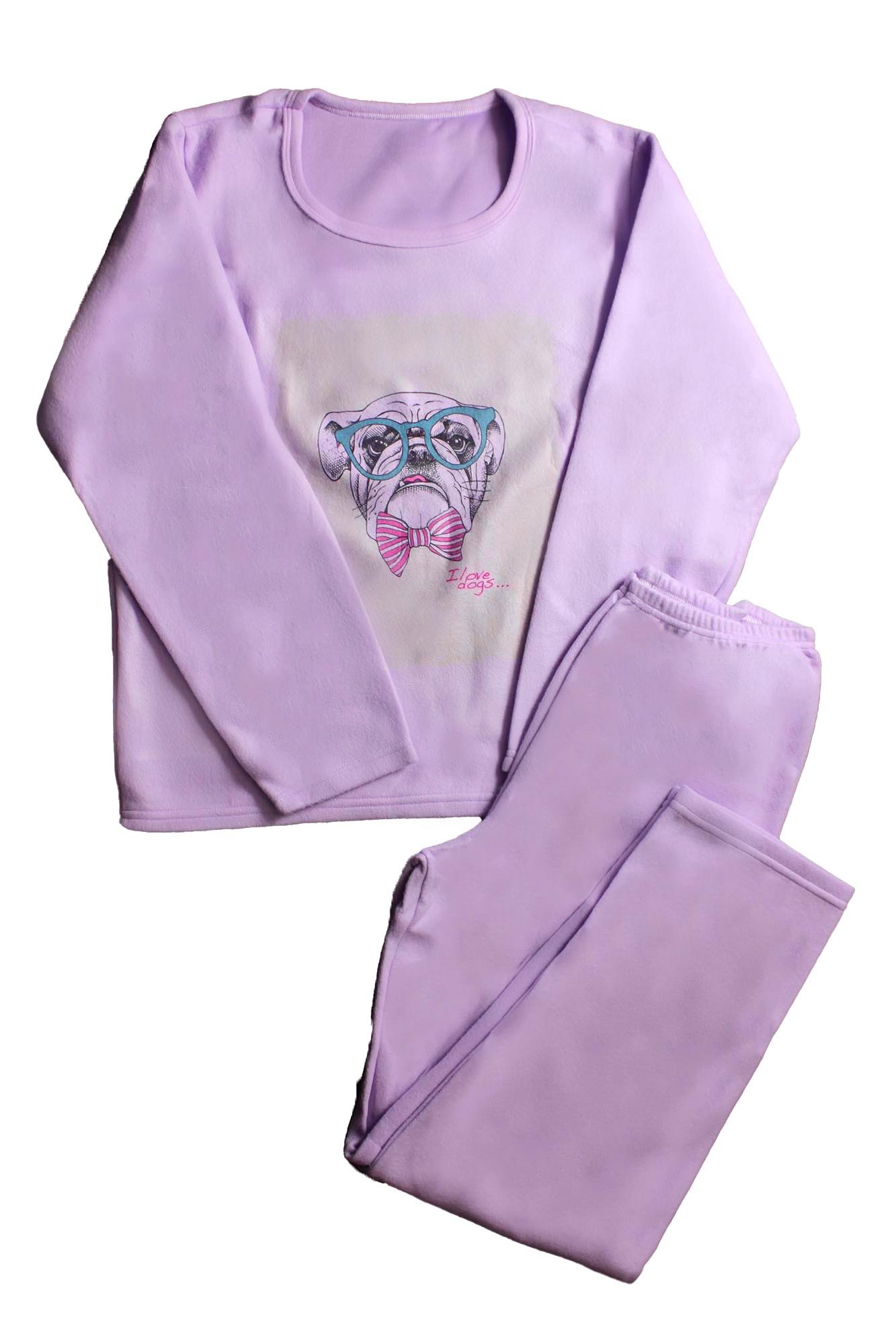 Pijama de Soft Feminino - Tamanho G3