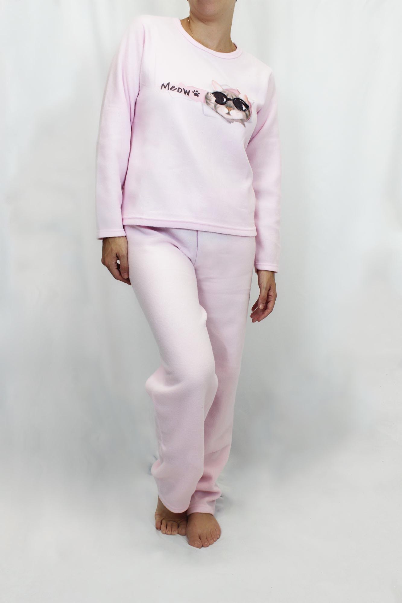 Pijama de Soft Feminino - Tamanho G