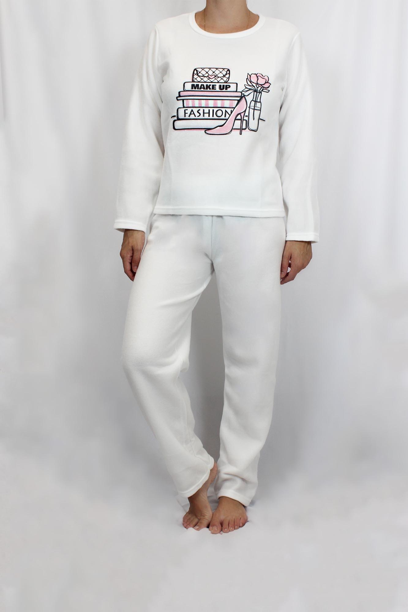 Pijama de Soft Feminino - Tamanho M ao G2