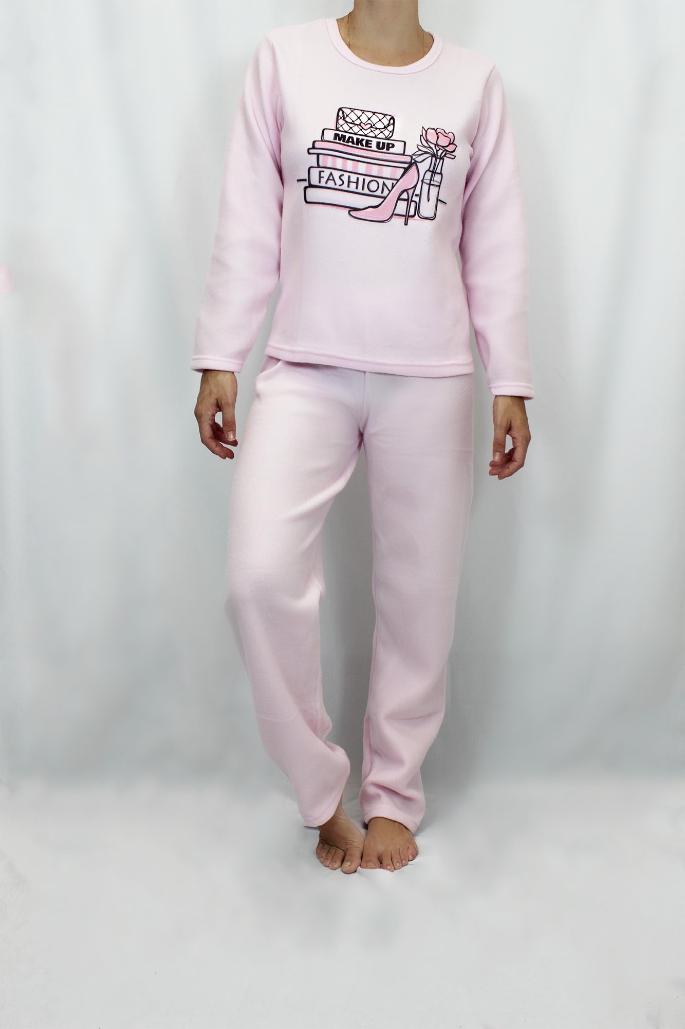 Pijama de Soft Feminino - Tamanho M e G