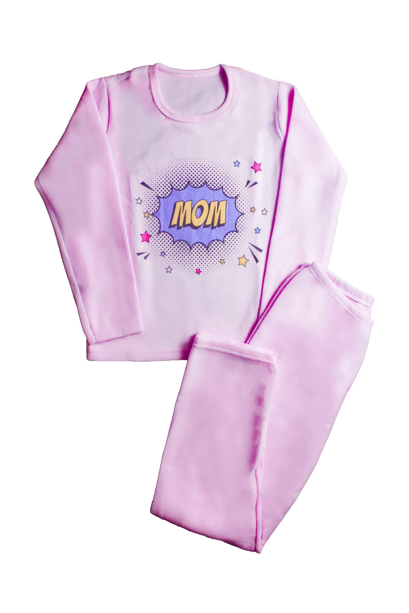 Pijama de Soft Feminino - Tamanho P