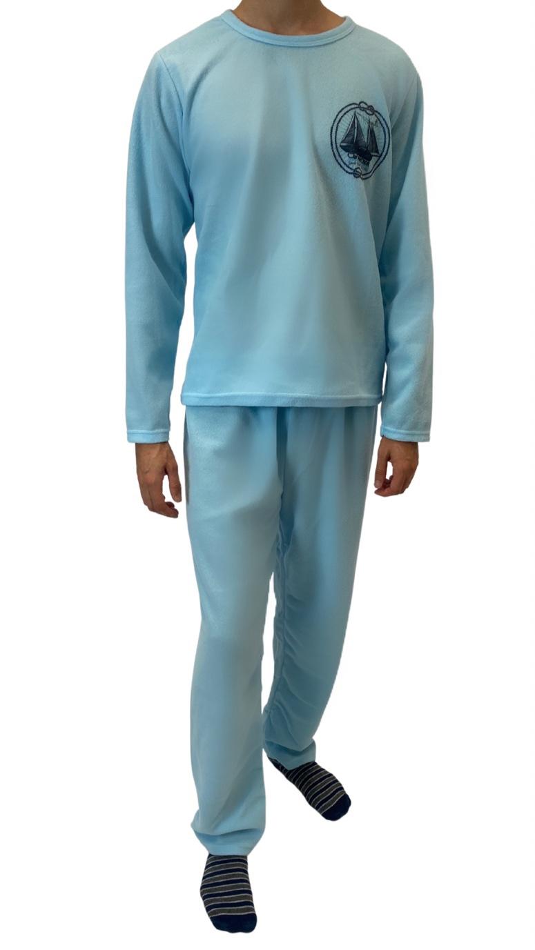 Pijama de Soft Masculino - Tamanho M