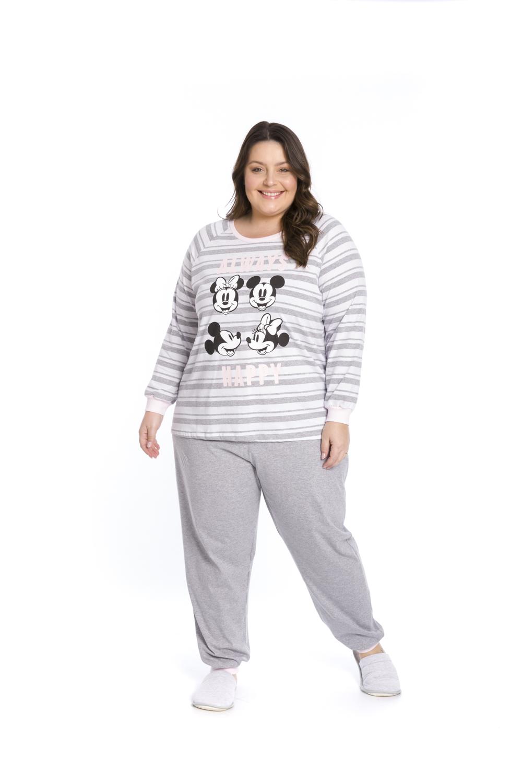 Pijama Feminino Disney - Tamanho P ao G3