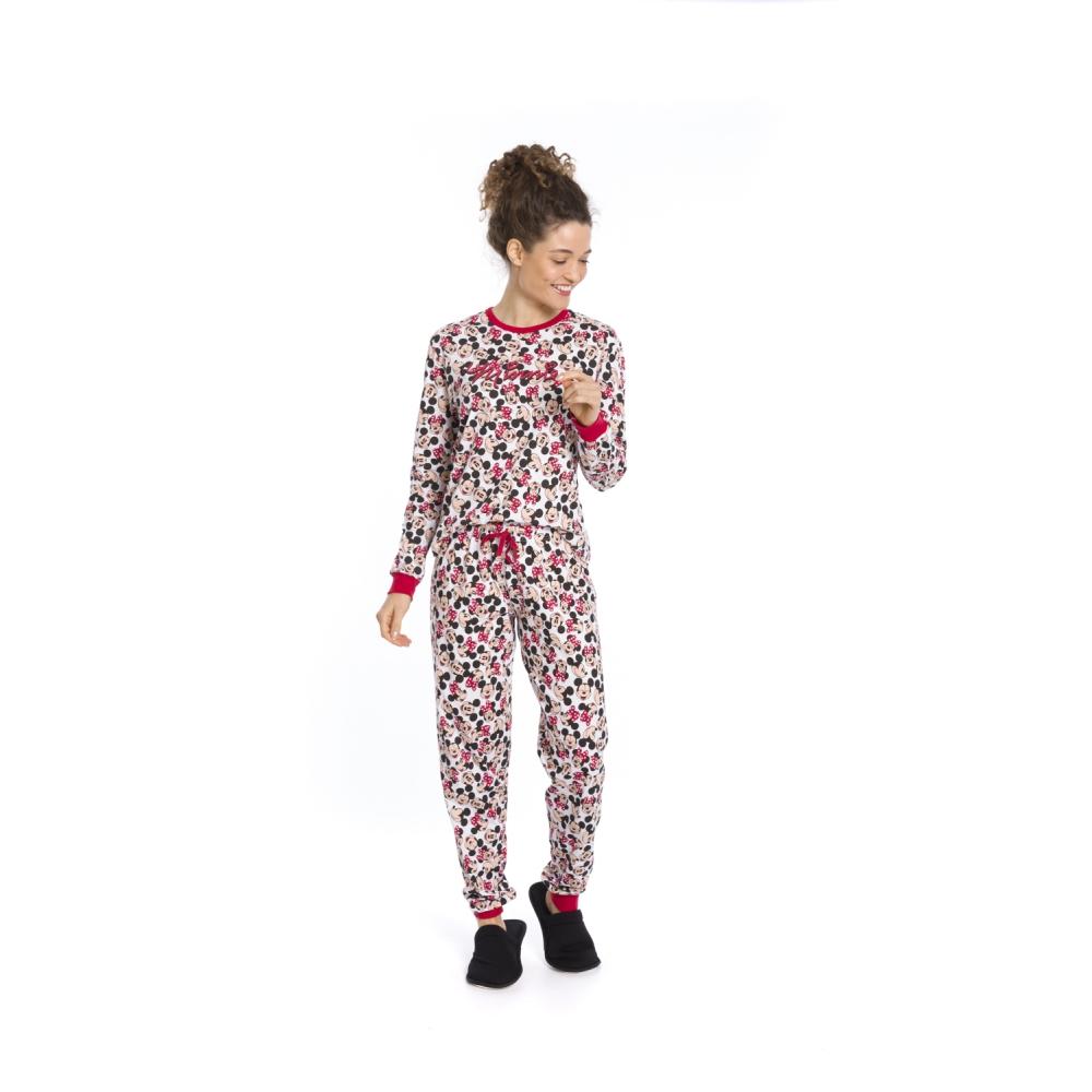 Pijama Feminino Disney (Produto Oficial) - Tamanho P ao GG