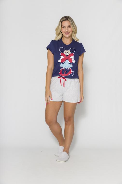Pijama Feminino Mãe e Filha Disney (Produto Oficial) - Tamanho P ao GG