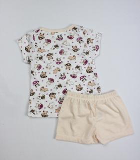 Pijama Infantil Menina - Tamanho 1