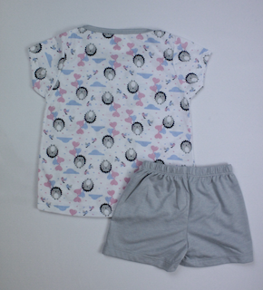 Pijama Infantil Menina - Tamanho 3 e 4